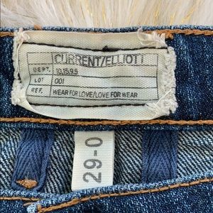 Current/Elliott Jeans - EUC Current/Elliott Fling Style Jeans